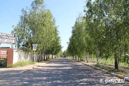 Дорога на поселок и ГГПХИ