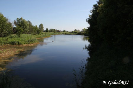 Вид в сторону Бахтеево