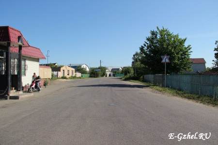 Дорога на Бахтеево