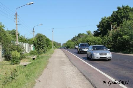 Егорьевское шоссе - на юго-восток