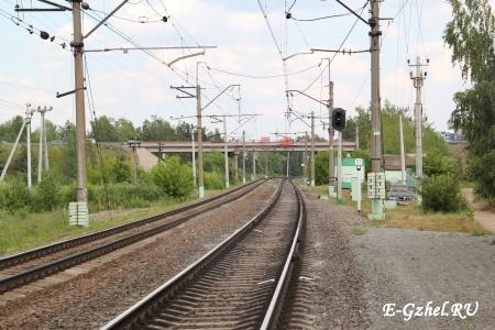 """Мост около платформы """"52км"""""""
