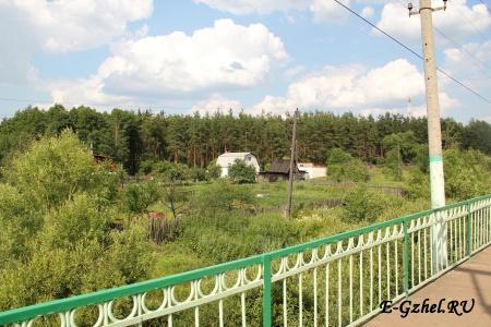 Вид с платформы на Москву