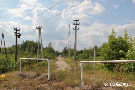 Дорожка к Егорьвскому шоссе
