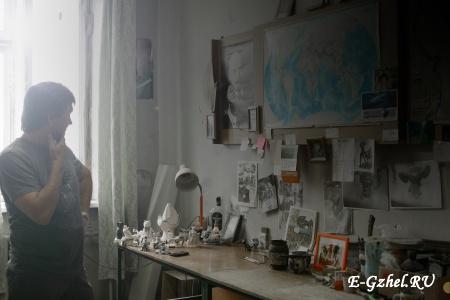 Мастерская Юрия Гаранина