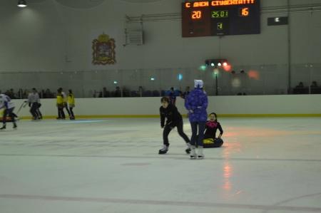 День студента на ледовой арене.
