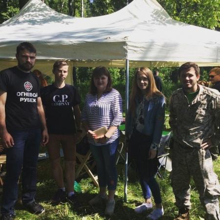 Активисты из Совета молодежи «Гжельские» посетили летний лагерь Евразийской школы